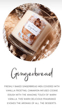 Load image into Gallery viewer, Ginger bread Candle