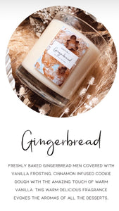 Ginger bread Candle
