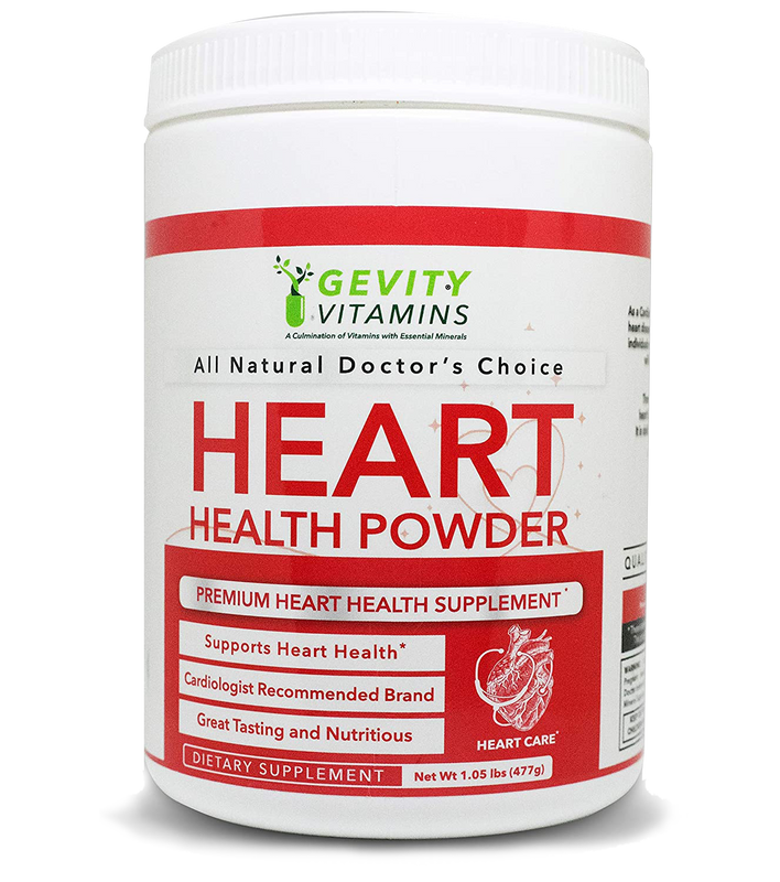Gevity Vitamins Heart Health Powder - Gevity Vitamins