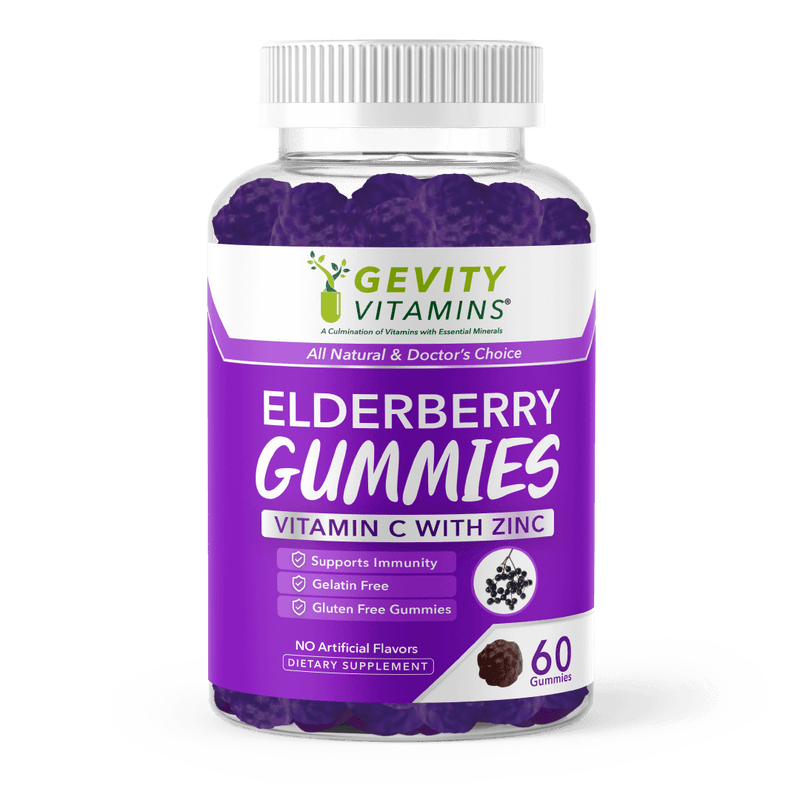 Elderberry Gummies - Gevity Vitamins