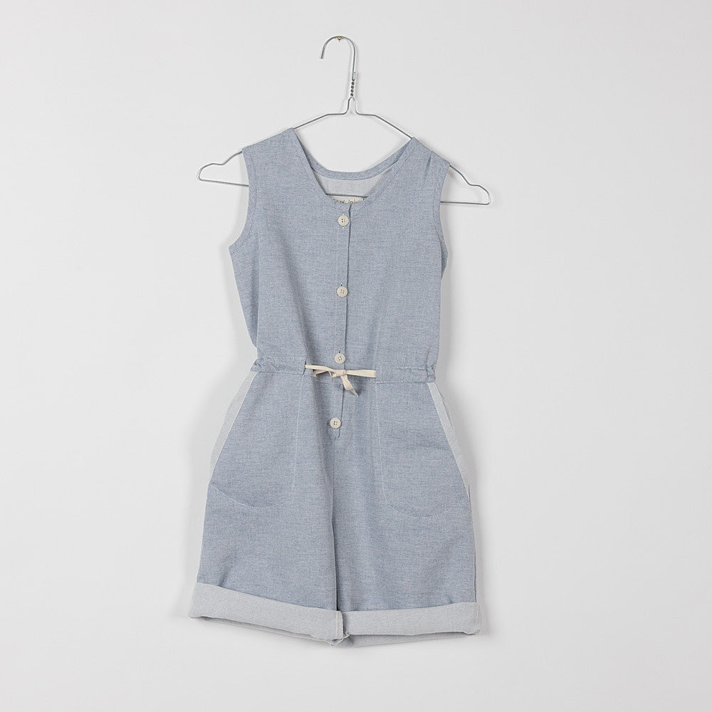 Kids Chambray Jumpsuit