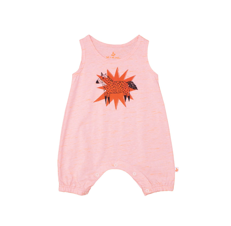Baby Tank Overall Neon