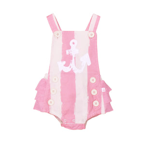 Girls Sailor Romper