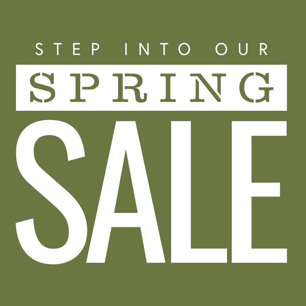 Our Spring Sale continues online | please stay safe