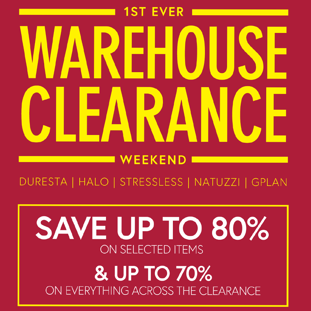Our first ever Warehouse Clearance at Dronfield