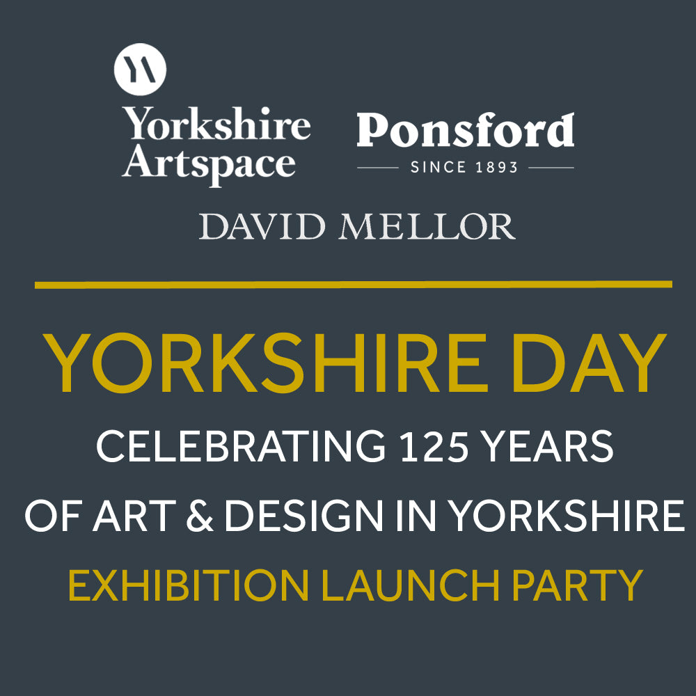 Yorkshire Day - Celebrating 125 years of Yorkshire Art & Design