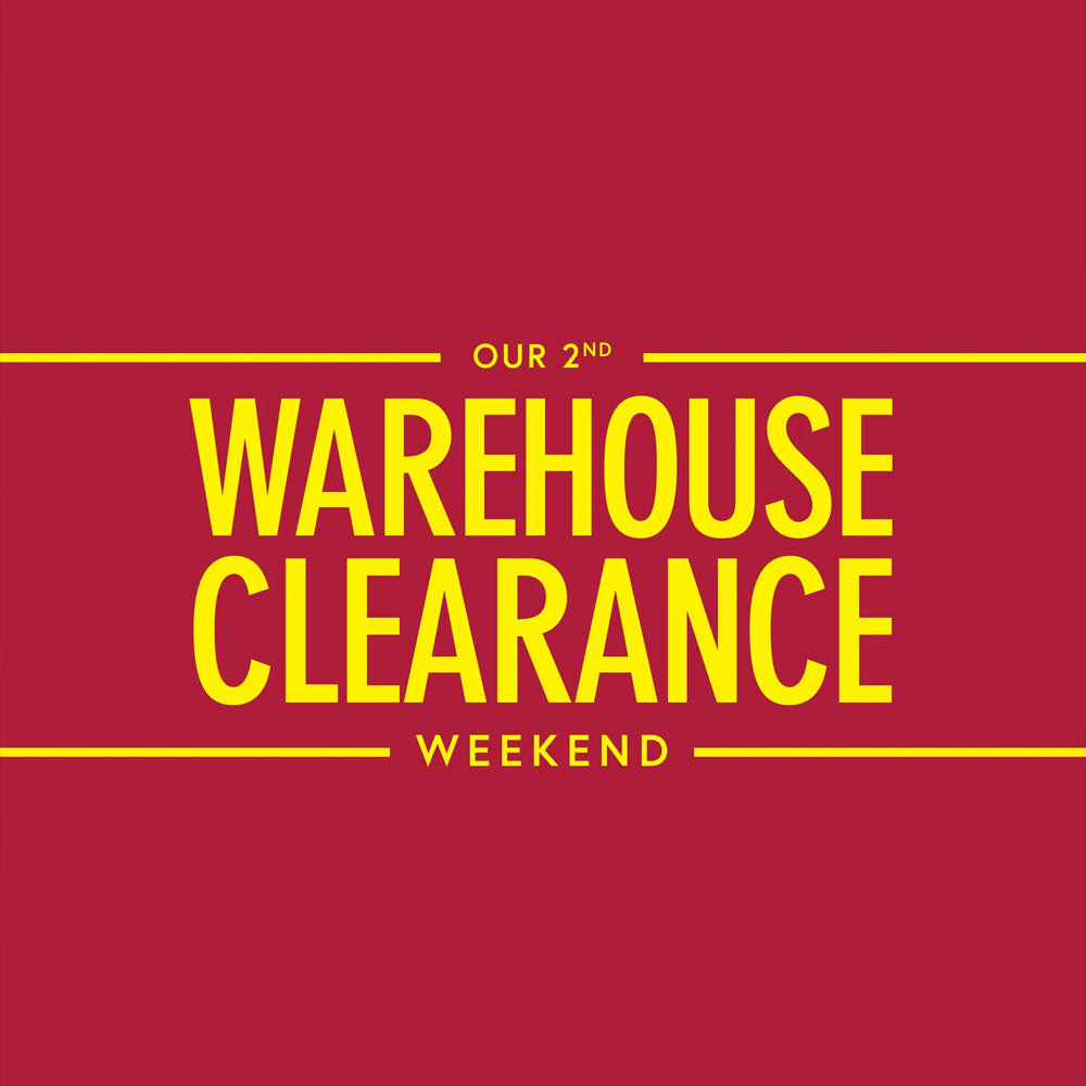 Our 2nd  Warehouse Clearance Weekend at Dronfield