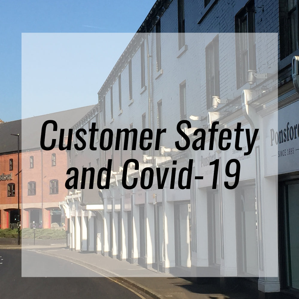 An important message from Ponsford – Customer Safety and Covid-19