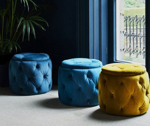 Alexander & James Footstools