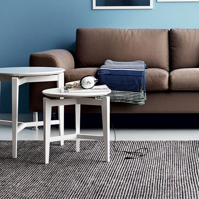 Calligaris Symbol Round Wooden Coffee Table