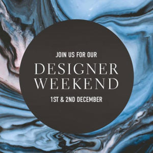 Neville Johnson Designer Weekend on Saturday 1st December and Sunday 2nd December