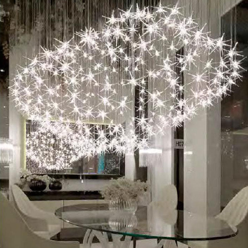 Stella Glass Star Chandelier