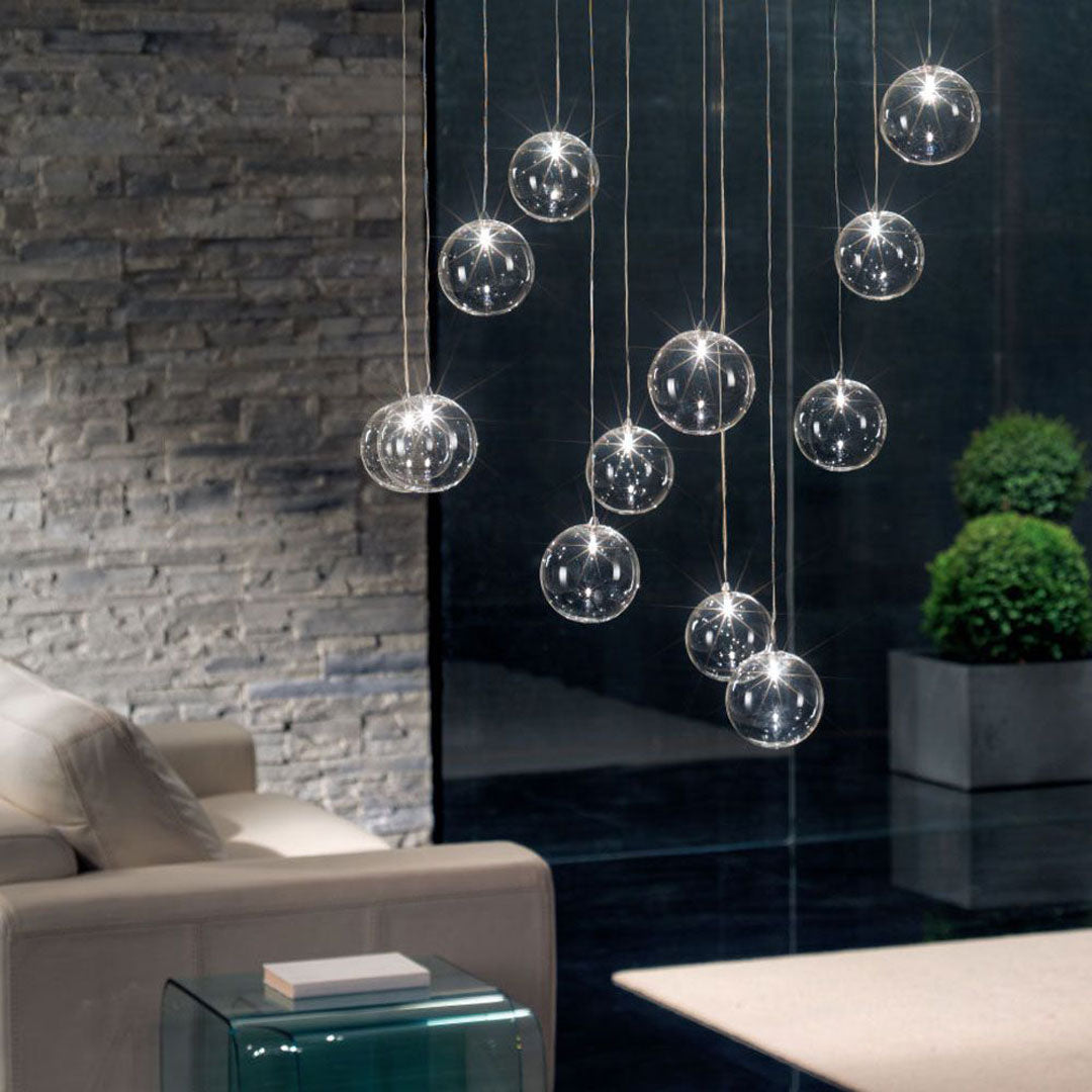 Bulles Glass Chandelier