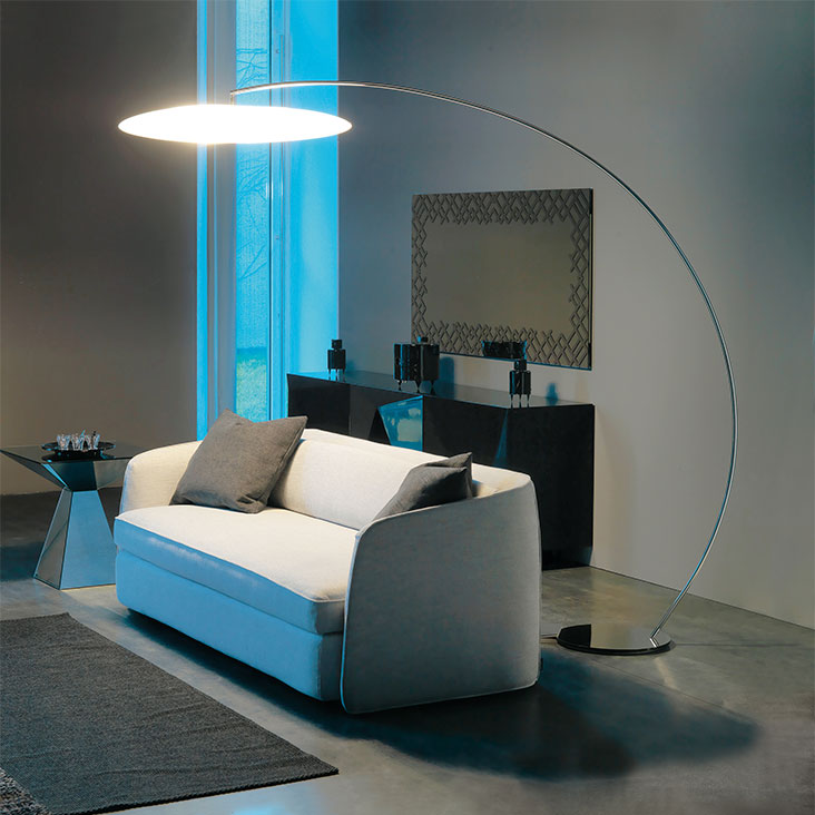 Cattelan Italia Astra Arc Floor Lamp