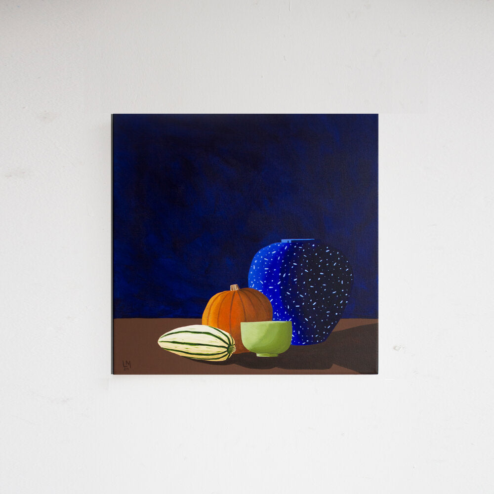 Lianne Mellor Two Vessels and Two Squashes