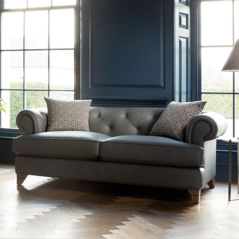 Parker Knoll Wycombe Leather Sofa