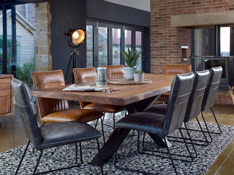 Dark Wood Dining Tables