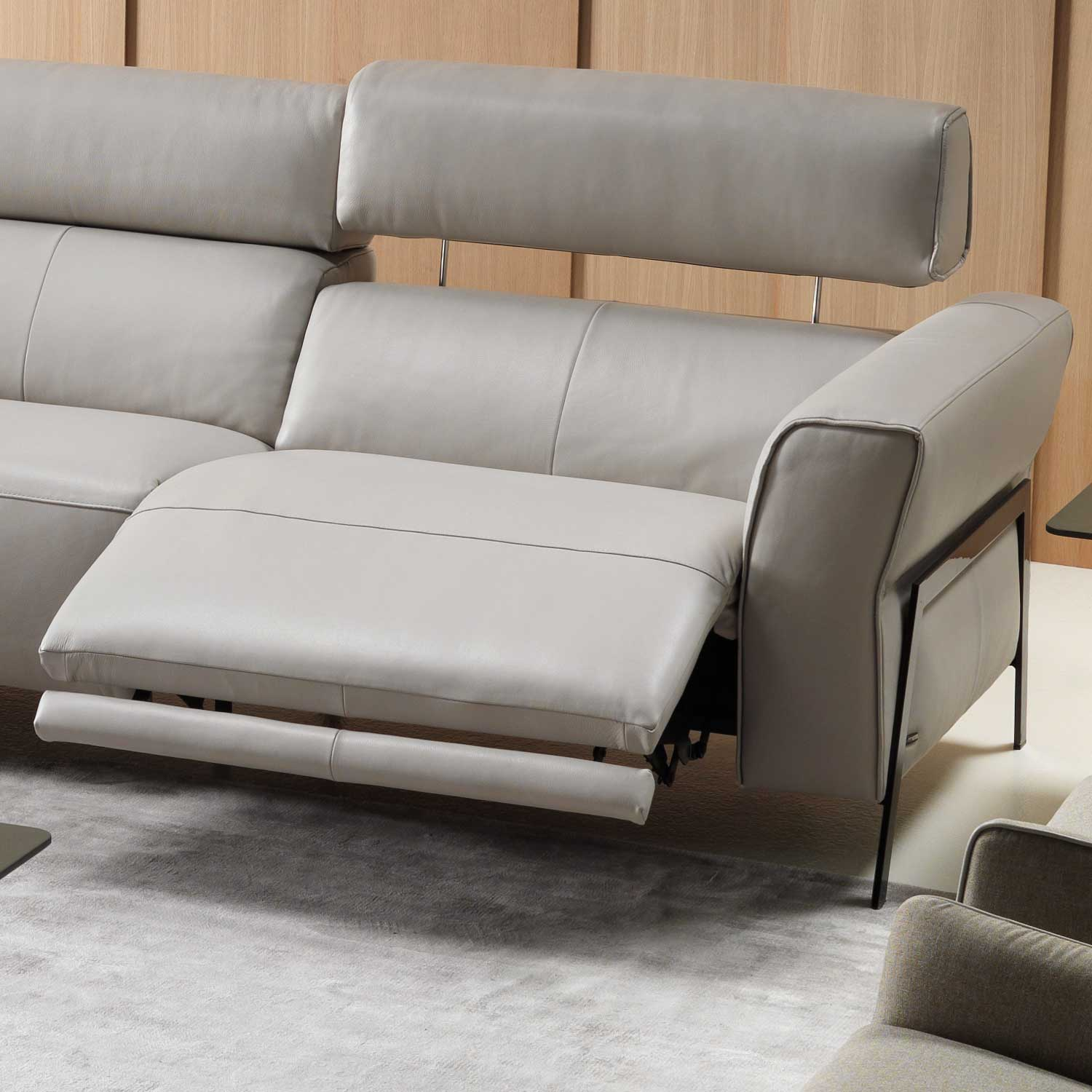 Natuzzi Editions Eleganza Leather Corner Sofa