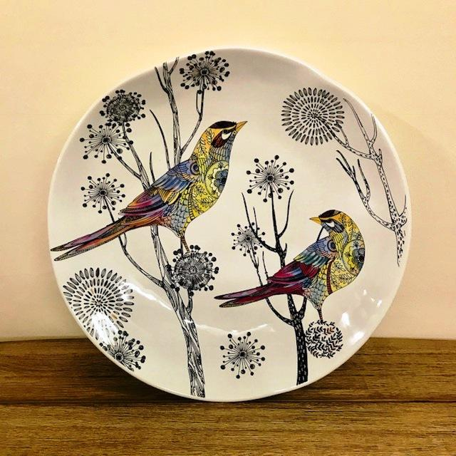 Decorative Bird Platter