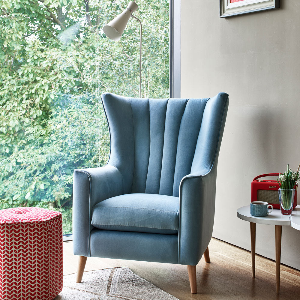 Shoreditch Chair in Soho Blue