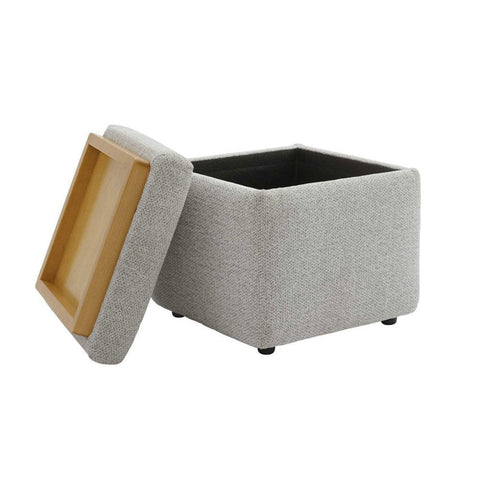 G Plan Spencer Storage Fabric Footstool