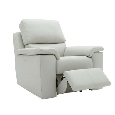 G Plan Taylor Leather Manual Recliner Armchair