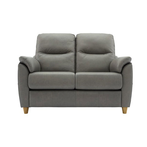G Plan Spencer 2 Seater Leather Sofa