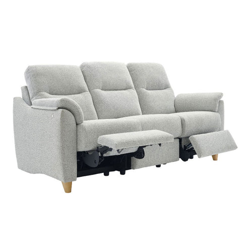 G Plan Spencer 3 Seater Power Recliner Fabric Sofa (Double)