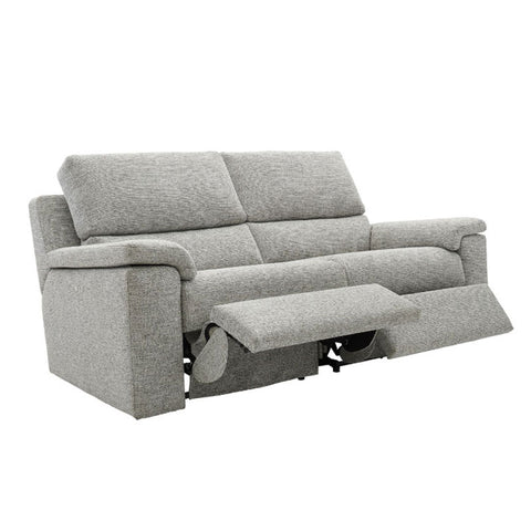 G Plan Taylor 3 Seater Manual Recliner Fabric Sofa (Double)