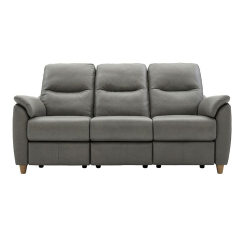 G Plan Spencer 3 Seater Leather Sofa