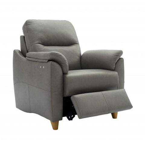 G Plan Spencer Power Recliner Leather Armchair