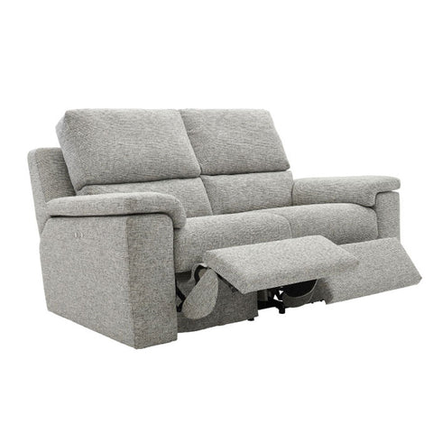G Plan Taylor 2 Seater Power Recliner Fabric Sofa (Double)