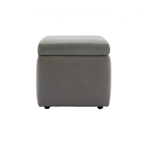 G Plan Spencer Storage Leather Footstool