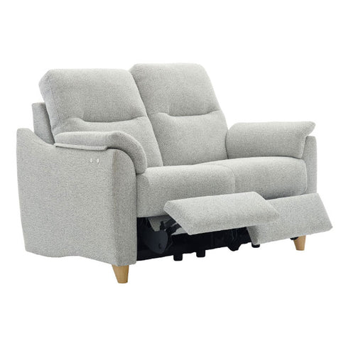 G Plan Spencer 2 Seater Power Recliner Fabric Sofa (Double)