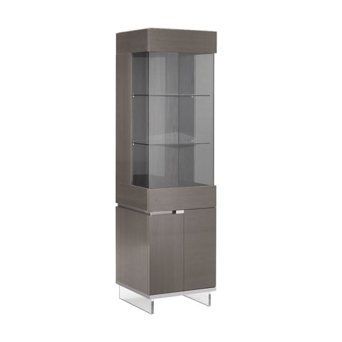 Athena 1 Door High Gloss Display Cabinet