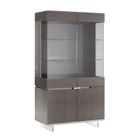 Athena 2 Door High Gloss Display Cabinet