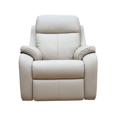 G Plan Kingsbury Manual Recliner Leather Armchair