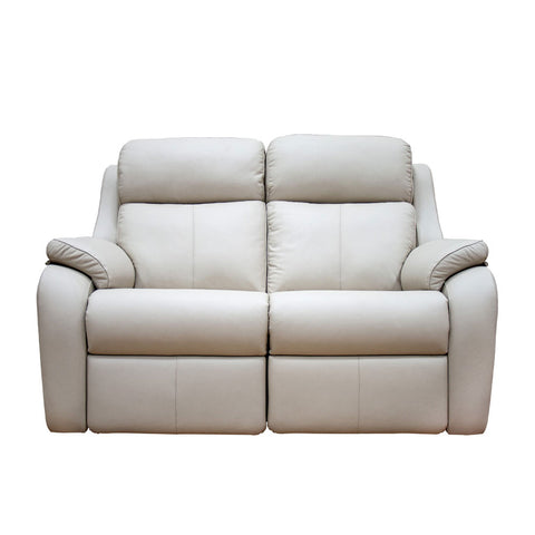 G Plan Kingsbury 2 Seater Leather Sofa