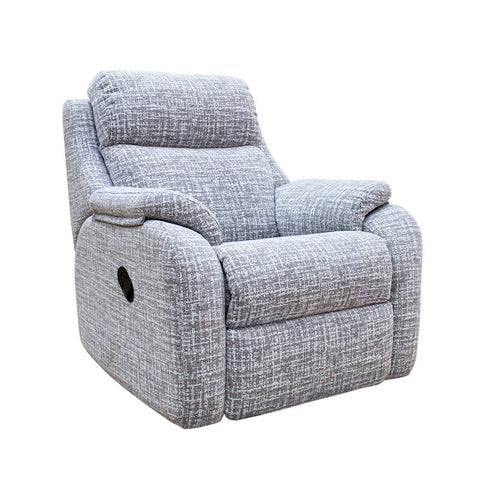 G Plan Kingsbury Manual Recliner Fabric Armchair