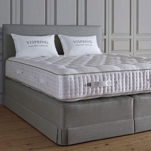 Vispring Magnificence Mattress with Viceroy Divan