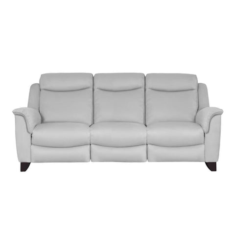 Parker Knoll Manhattan Leather 3 Seater Power Recliner Sofa - Rechargeable