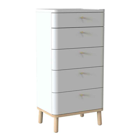 Avon Tall Chest of 5 Drawers