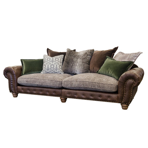 Alexander & James Wilson Grand Split Pillow Back Sofa