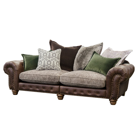 Alexander & James Wilson Large Split Pillow Back Sofa