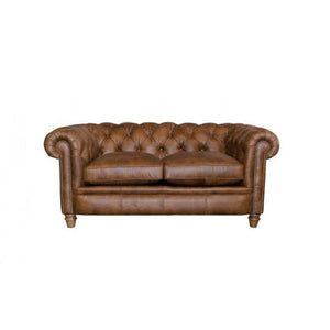 Alexander & James Abraham Junior Small Leather Sofa