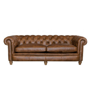 Alexander & James Abraham Junior Large Leather Sofa