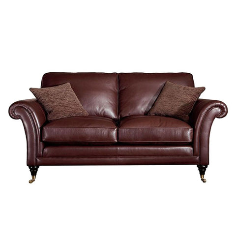 Parker Knoll Burghley Large Leather 2 Seater Sofa