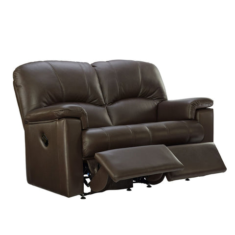 G Plan Chloe 2 Seater Power Recliner Leather Sofa (Double)