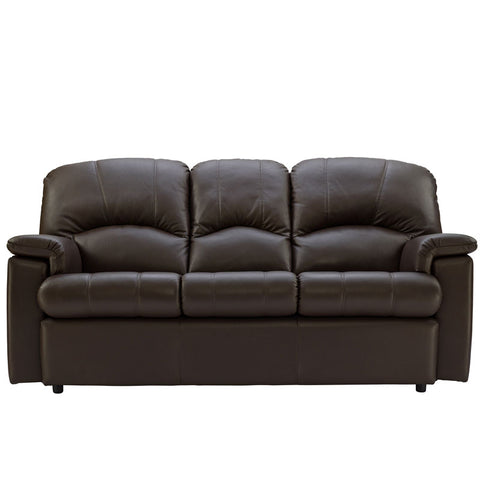 G Plan Chloe Small 3 Seater Leather Sofa