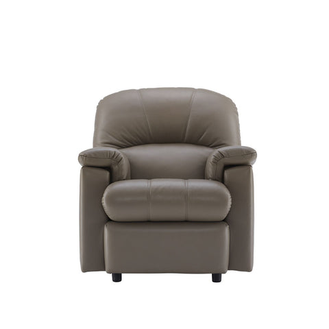 G Plan Chloe Leather Small Manual Recliner Leather Armchair